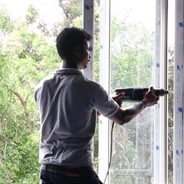 ablakjavítás, ablakbeépítés